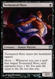 Magic the Gathering Theros Single Tormented Hero - NEAR MINT (NM)