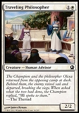 Magic the Gathering Theros Single Traveling Philosopher - NEAR MINT (NM)