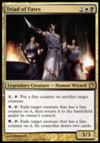 Magic the Gathering Theros Single Triad of Fates Foil - NEAR MINT (NM)