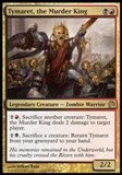 Magic the Gathering Theros Single Tymaret, the Murder King Foil - NEAR MINT (NM)