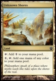 Magic the Gathering Theros Single Unknown Shores - NEAR MINT (NM)