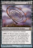 Magic the Gathering Theros Single Whip of Erebos Foil UNPLAYED