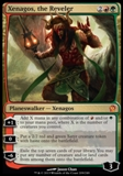 Magic the Gathering Theros Single Xenagos, the Reveler Foil UNPLAYED