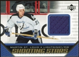 2005/06 Upper Deck Shooting Stars Jerseys #SMS Martin St. Louis