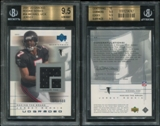 2001 Upper Deck UD Graded Rookie Jerseys #54 Michael Vick 171/500 BGS 9.5 Gem Mint