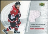 2003/04 Upper Deck Team Essentials #TPDA Daniel Alfredsson