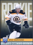 2008/09 Upper Deck Be A Player #RR291 Brad Marchand XRC /99