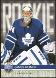 2008/09 Upper Deck Be A Player #RR297 James Reimer XRC /99