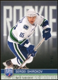 2008/09 Upper Deck Be A Player #RR299 Sergei Shirokov XRC /99