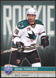 2008/09 Upper Deck Be A Player #RR301 Benn Ferriero XRC /99