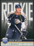 2008/09 Upper Deck Be A Player #RR306 Colin Wilson XRC /99