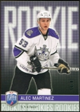 2008/09 Upper Deck Be A Player #RR307 Alec Martinez XRC /99