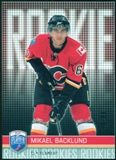 2008/09 Upper Deck Be A Player #RR323 Mikael Backlund XRC /99