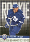 2008/09 Upper Deck Be A Player #RR324 Christian Hanson XRC /99