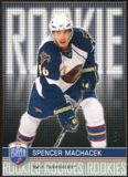 2008/09 Upper Deck Be A Player #RR327 Spencer Machacek XRC /99