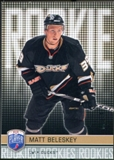2008/09 Upper Deck Be A Player #RR334 Matt Beleskey XRC /99