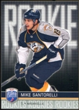 2008/09 Upper Deck Be A Player #RR337 Mike Santorelli XRC /99