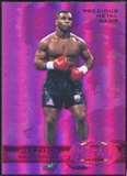 2013 Upper Deck Precious Metal Gems Employee #EMT Mike Tyson /125