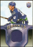 2008/09 Upper Deck Be A Player Rookie Redemption Bonus #RR295 Michael Grabner Jersey /99