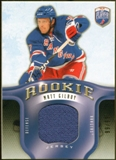 2008/09 Upper Deck Be A Player Rookie Redemption Bonus #RR305 Matt Gilroy Jersey /99