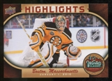 2010/11 Upper Deck Winter Classic Oversized #WC8 Tim Thomas