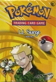 Pokemon Gym Heroes Theme Deck Lt. Surge
