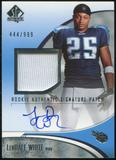 2006 Upper Deck SP Authentic #241 LenDale White /999 Rookie Autograph Patch