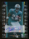2007 Upper Deck Trilogy Rookie Autographs #163 Lorenzo Booker Autograph /133