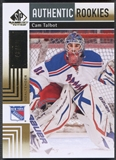 2011/12 SP Game Used #103 Cam Talbot Gold Rookie #43/50