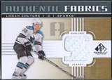 2011/12 SP Game Used #AFLC Logan Couture Authentic Fabrics Gold Jersey