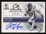 2007 Upper Deck SP Rookie Threads Scripted in Time Autographs #SITJL John Lynch Autograph /100