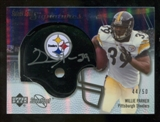 2007 Upper Deck Sweet Spot Signatures Silver 50 #WP Willie Parker Autograph /50
