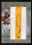 2007 Upper Deck SP Rookie Threads Rookie Lettermen Gold #131 Kenny Irons Autograph /99