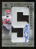 2007 Upper Deck SP Rookie Threads #132 Kolby Smith Autograph /250