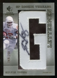 2007 Upper Deck SP Rookie Threads #136 Selvin Young Autograph /250