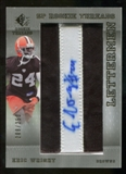 2007 Upper Deck SP Rookie Threads #102 Eric Wright Autograph /250