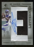 2007 Upper Deck SP Rookie Threads #156 Sidney Rice Autograph /250