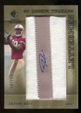 2007 Upper Deck SP Rookie Threads Rookie Lettermen Silver #152 Jason Hill Autograph /199