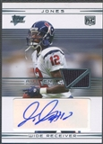 2007 Topps Performance #119 Jacoby Jones Rookie Jersey Auto