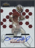 2003 Finest #148 Brandon Lloyd Rookie Auto #495/999