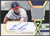 2004 SPx #HR Horacio Ramirez Swatch Supremacy Signatures Young Stars Auto #915/999