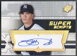2004 SPx #SP Scott Proctor SuperScripts Rookie Auto
