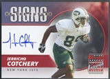 2004 Bowman #SFJC Jerricho Cotchery Signs of the Future Rookie Auto