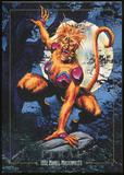 1992 Fleer Marvel Masterpieces Lost Marvel Bonus #LM2 Feral