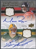 2008 Exquisite Collection #BR Matt Ryan & Brian Brohm Rookie Dual Jersey Auto #13/25