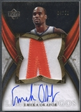 2006/07 Exquisite Collection #LLEO Emeka Okafor Limited Logos Patch Auto #04/50