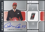 2006/07 Fleer Hot Prospects #LA LaMarcus Aldridge Sweet Selections Rookie Auto #21/50