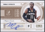 2010/11 Playoff National Treasures #49 Mike Conley Jr. Century Signatures Auto #71/99