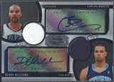 2007/08 Bowman Sterling #BW Carlos Boozer & Deron Williams Dual Jersey Auto #27/85