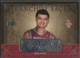 2007/08 Upper Deck Premier #FFYM Yao Ming Franchise Faces Auto #08/50